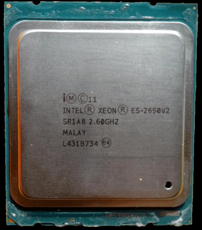 Intel Xeon E5 2650v2
