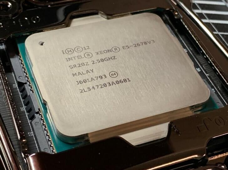 Xeon E5 2678 v3