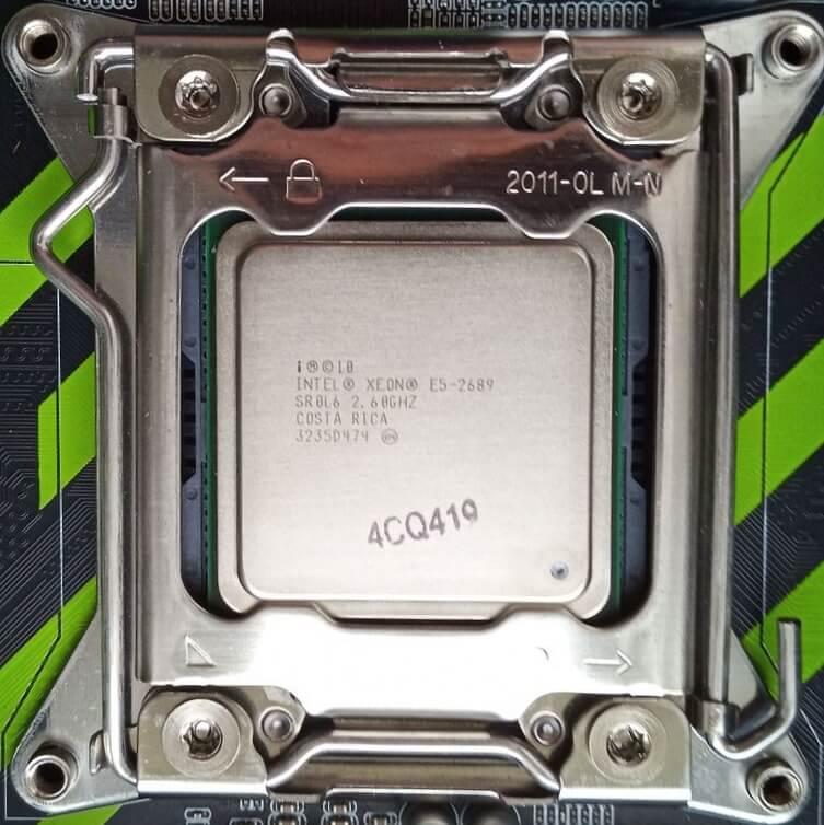 Intel Xeon E5 2689