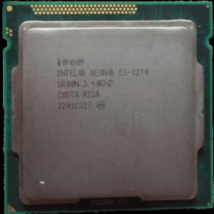 Intel Xeon E3 1270