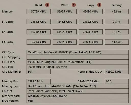 процессор intel core i7 10700