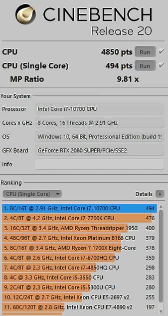 процессор intel core i7 10700K