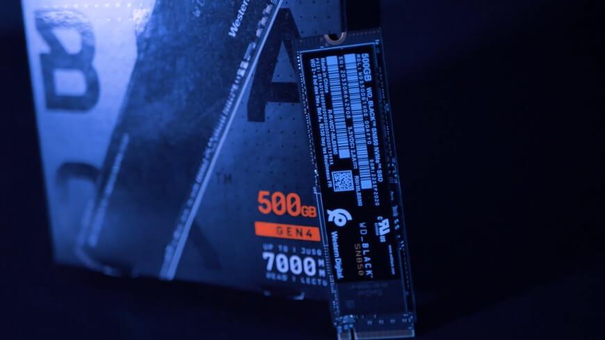 Обзор SSD-накопителя WD Black SN850